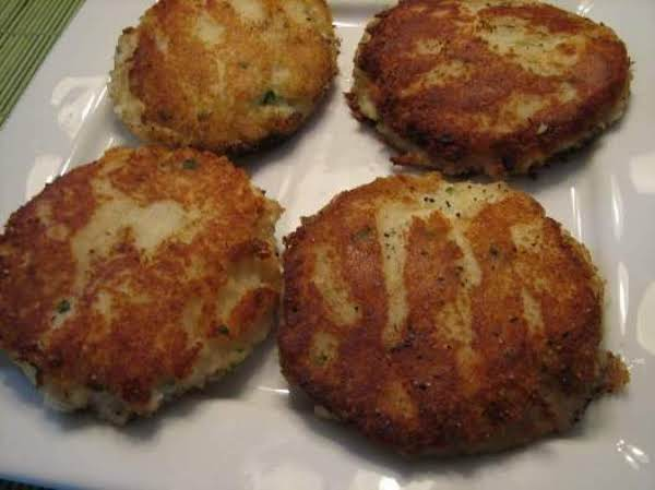 Chive Potato Cakes Recipe