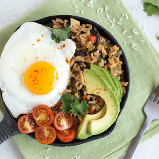 Breakfast Rice and Beans Recipe