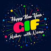 New Year 2019 GIF Maker with Name