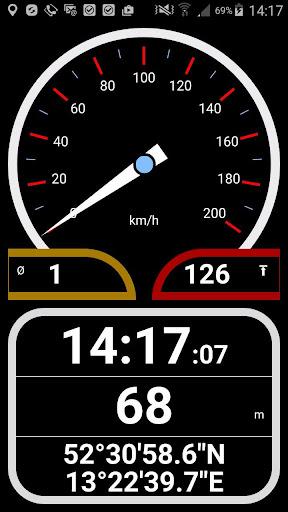 Easy Speedometer PLUS km h mph