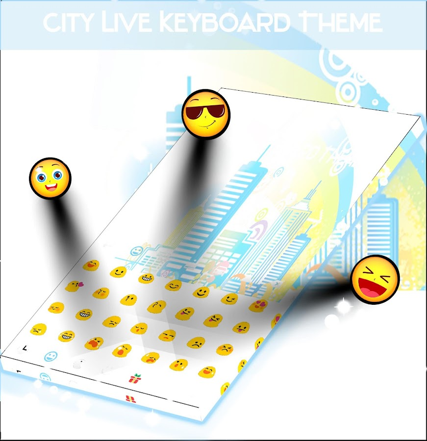 City Live Keyboard Theme- screenshot