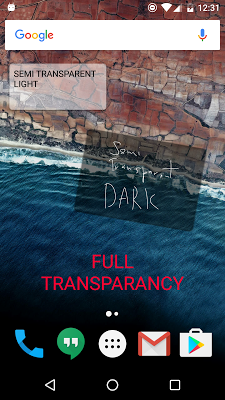 Sticky Notes Theme Transparent - screenshot