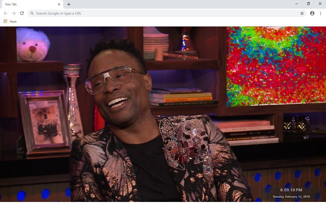 Billy Porter New Tab & Wallpapers Collection