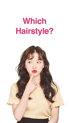 Hairfit - k-pop hairstyle simulatorのおすすめ画像1