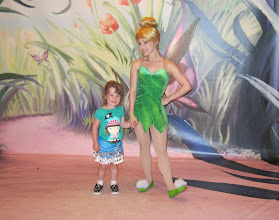 Photo: With Tinkerbell on the Disney Dream