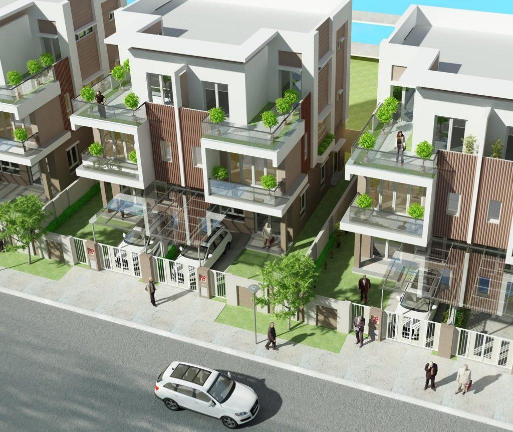 thiết kế dự án đất nền maylandia quận 9