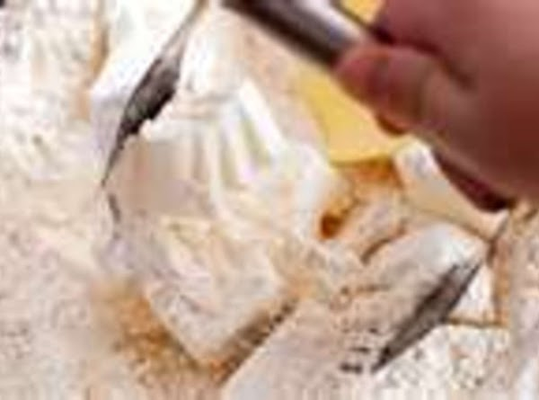 Cut the shortening into the dry ingredients using a pastry blender or fork until...
