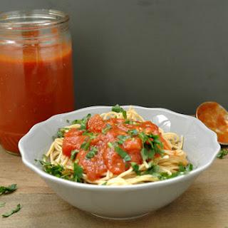 Basic Homemade Pasta Sauce