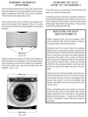 Operating manual for whirlpool duet washer