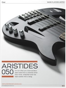 Bass Players United Magazine- screenshot thumbnail