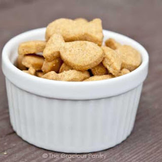 Clean Eating Gold Fish Crackers