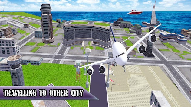 Download Airplane Crazy Flight Sim 3D APK latest version game for