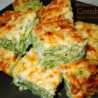 Broccoli Cheese Cornbread.