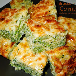 Broccoli Cheese Cornbread With Jiffy Mix Recipes.
