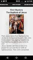 Screenshot of Catholic Prayers