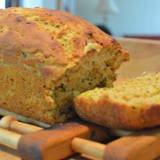Healthier Zucchini Bread.