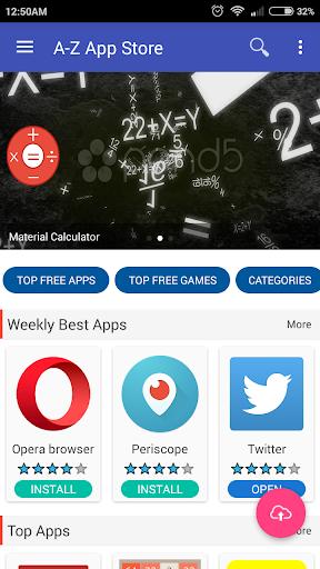 A-Z App Store 1.0.5 screenshots 1