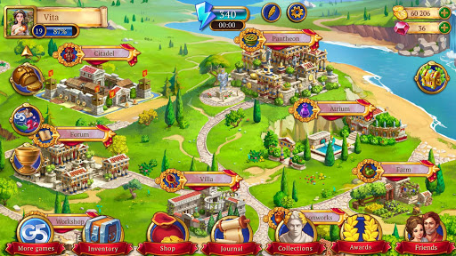Jewels of Rome: Match gems to restore the city apkpoly screenshots 8