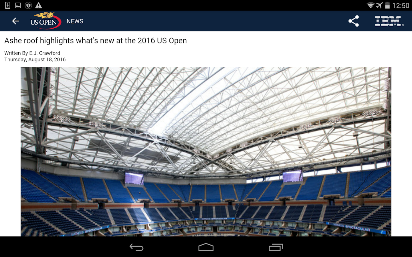 US Open Tennis Championships- screenshot