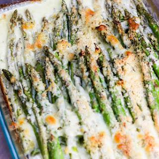 Creamy Baked Cheesy Asparagus.