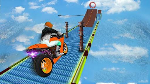 Impossible Bike Track Motor Racing 3D 1.0 screenshots 1