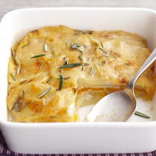 Rosemary Potato and Squash Gratin