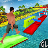 Stuntman Water Run Wipe-Out Park