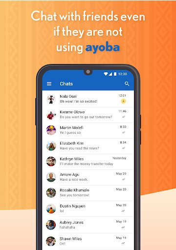Ayoba! Free instant messaging Apk 1