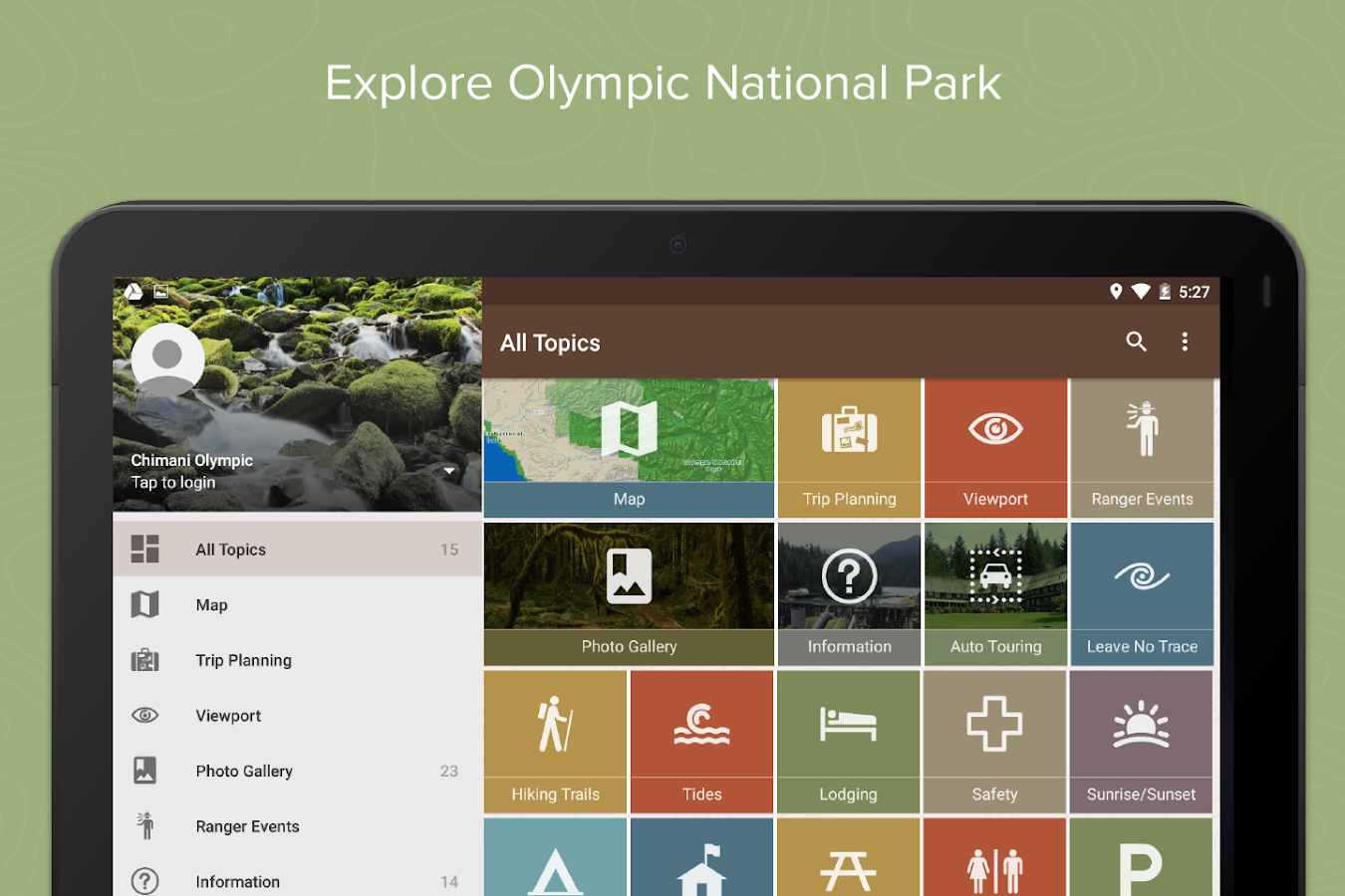 Olympic Ntl Park by Chimani- screenshot
