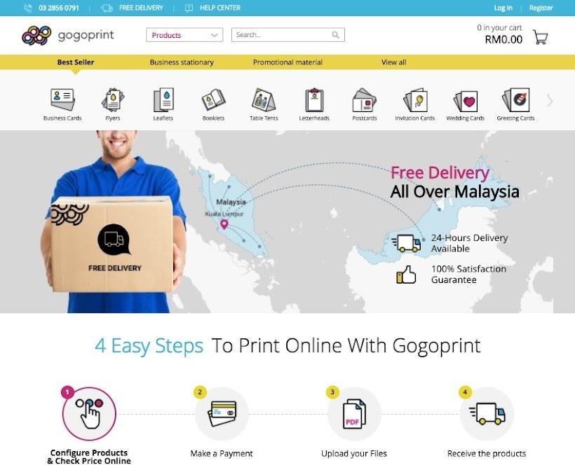 gogoprint express printing service malaysia