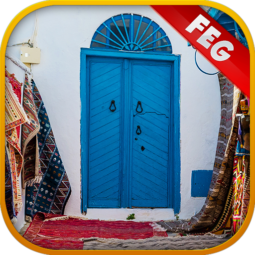Blue City Chefchaouen Escape 解謎 App LOGO-APP開箱王