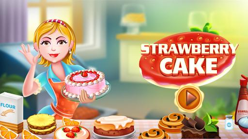 Hazel & Mom's Recipes - Strawberry Cake  screenshots 1
