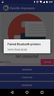 Zencillo Impresora - náhled