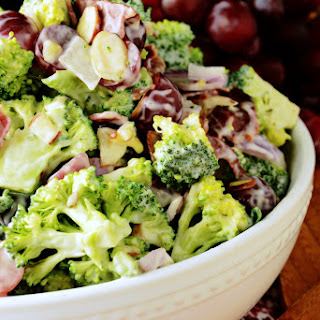 Not Your Mama's Broccoli Salad