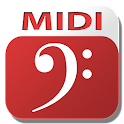MIDI Clef Karaoke Player icon