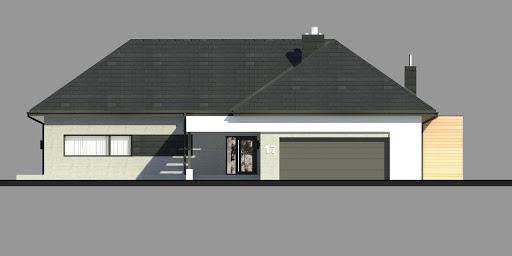 New House 17 - Elewacja przednia