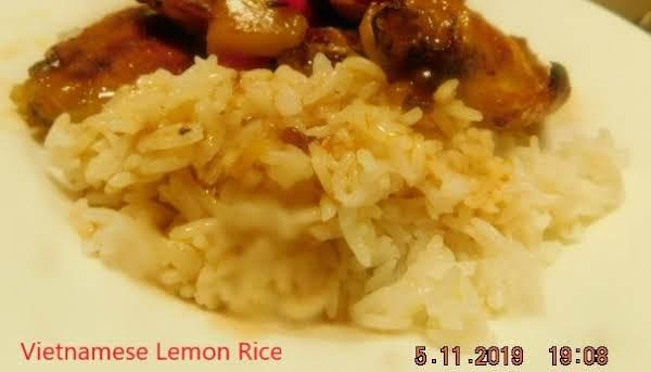 Vietnamese Lemon Rice