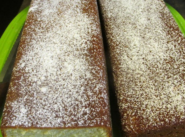 May add a thin glaze if desired or dust lightly with powdered sugar, or...