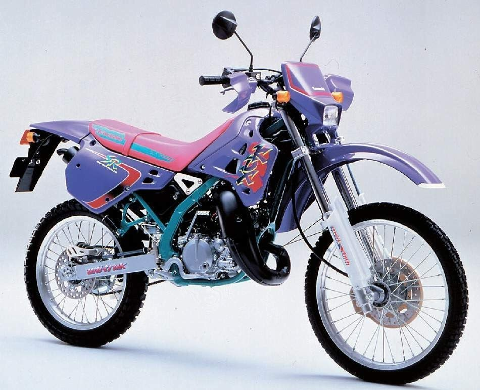 Kawasaki KDX 125-manual-taller-despiece-mecanica