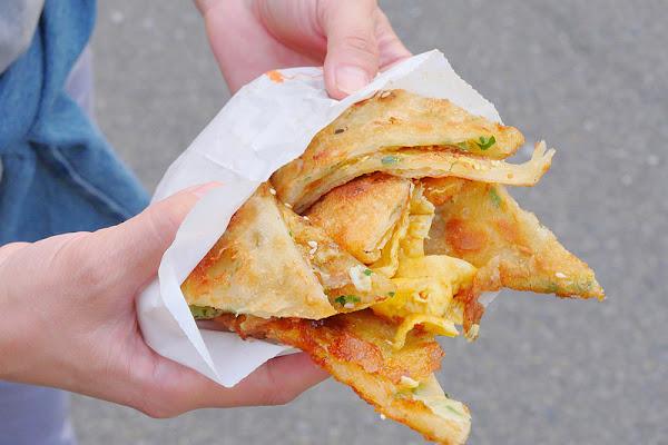 臧羅葱油餅&無名炸雞