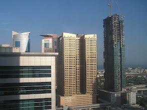 Photo: CB150002 ZEA - Dubaj - widok z pokoju na 26p