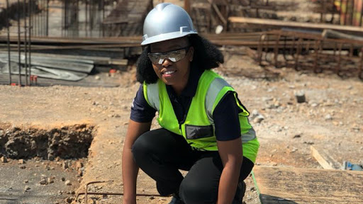 Lerato Mazibuko, electrical engineer at Anglo American Coal.
