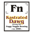 Logo of Foggy Noggin Kastrated Dawg