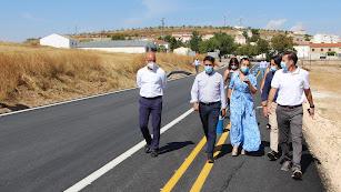 La obra ha renovado el firme de la carretera.