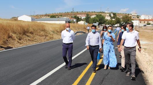 Rehabilitada la carretera que conecta Topares con Vélez-Blanco