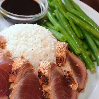 Sesame-Crusted Seared Ahi Tuna
