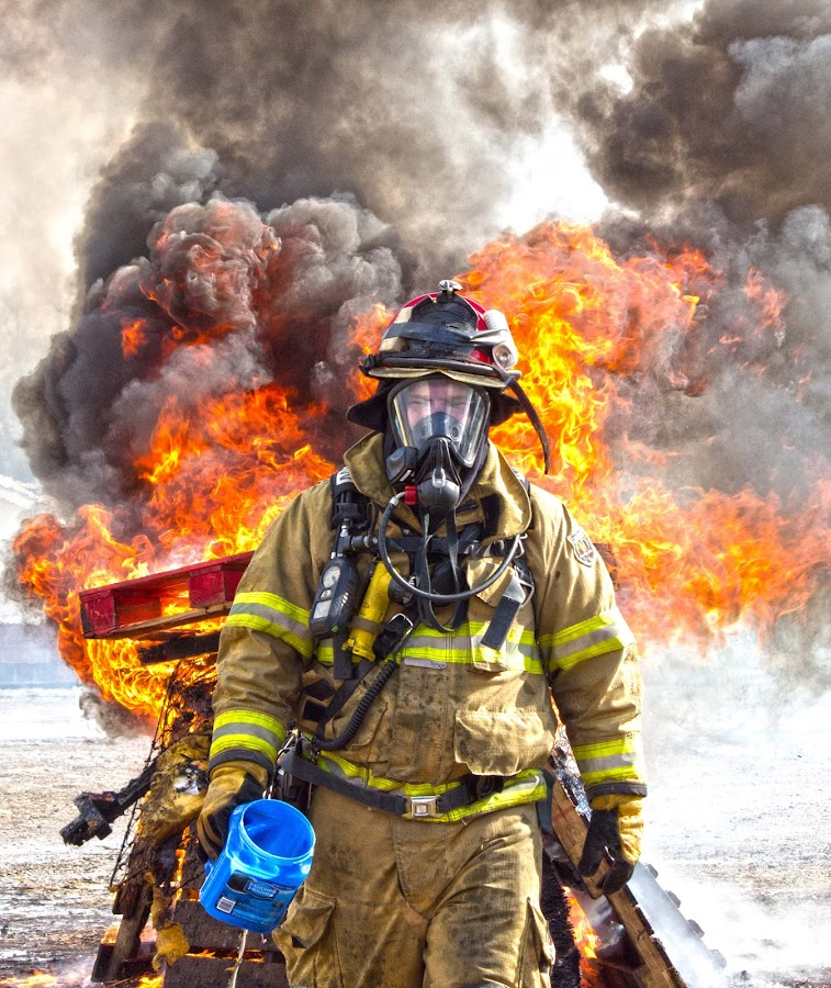 The Fireman by Michelle Amos - News & Events World Events