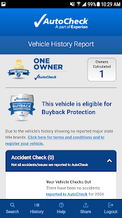 AutoCheck® Mobile for Consumer- screenshot thumbnail