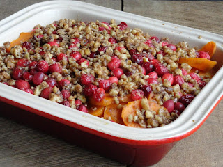 Sweet Potato Cranberry Casserole Recipe