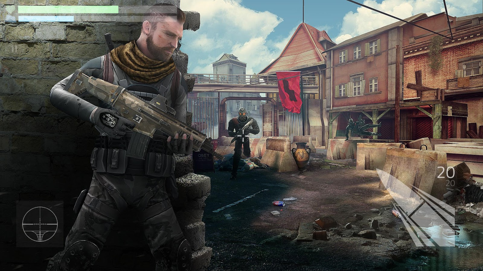 Cover Fire: shooting games- screenshot